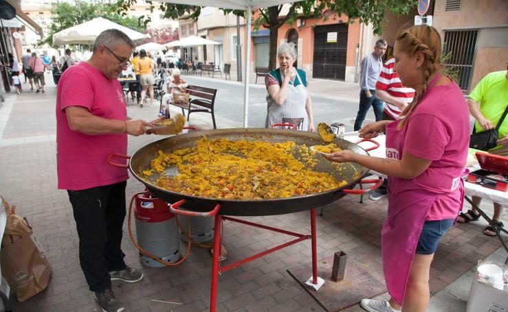 El barrio de El Carmen de Logroño continúa de fiestas