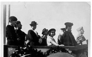 Cuando Franco condecoró a las tropas de Mussolini en Agoncillo