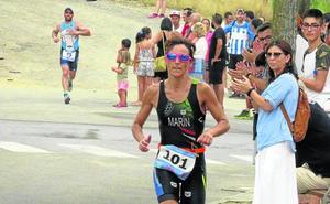 Los riojanos Pérez y Marín ganan el Triatlón de Alfaro