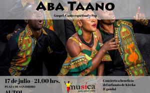El grupo vocal ugandés Aba Taano ofrecerá conciertos en Autol y Arnedo