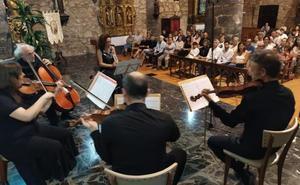 La Camerata del Prado honra en el cierre de ClásicArnedillo la influencia de Mozart