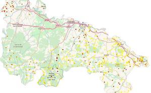 La Rioja registra el impacto de más de 700 rayos durante el fin de semana