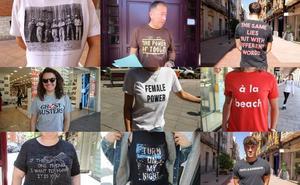 ¿Qué pone en tu camiseta?