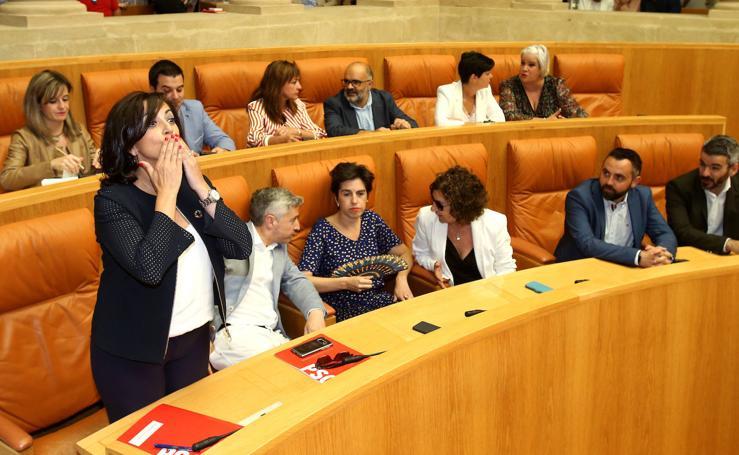 Primera sesión del debate de investidura de Concha Andreu