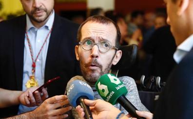 Pablo Echenique confía en alcanzar un acuerdo en La Rioja