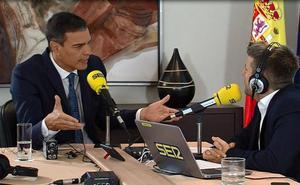 Pedro Sánchez sobre La Rioja: «¿Tres consejerías por un solo escaño?»