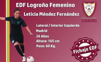 El EDF incorpora a Leticia Méndez