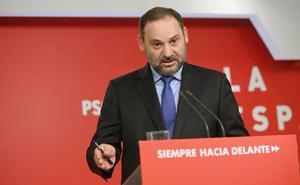 Ábalos: «el bloqueo de Podemos en La Rioja es decepcionante y deplorable»
