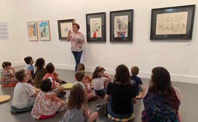 La Amós Salvador acerca el arte contemporáneo a niños y adultos