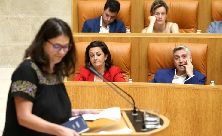 Las imágenes de la primera votación del Pleno de Investidura