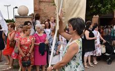 Procesión de la Virgen del Carmen 'Reina de la ribera' en Calahorra