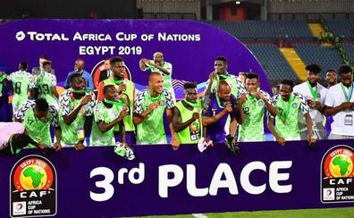 Nigeria logra el bronce en la Copa de África