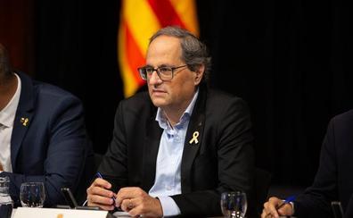 Torra se desmarca de ERC y de los presos de JxCat y apuesta por el no a la investidura de Sánchez
