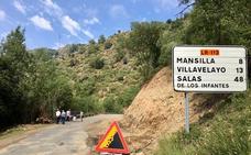 Comienzan las obras de mejora de la carretera del Alto Najerilla hasta Mansilla