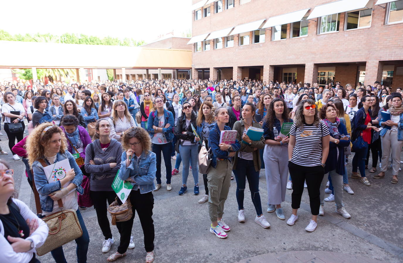 Consulta las notas de la segunda prueba de las oposiciones a maestro de La Rioja