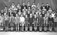 La Retina: alumnos de los Maristas en los años 50