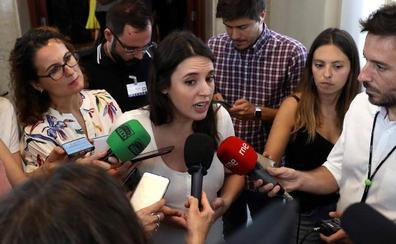 Irene Montero sobre el veto a Andreu: «Es preceptivo que haya consultas para que los inscritos decidan»