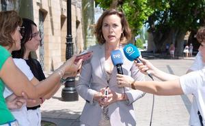 Cuca Gamarra considera «un fracaso» la posible repetición de elecciones en La Rioja