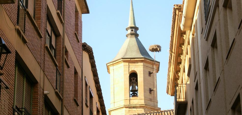 Autorizada la ayuda para el arreglo de las campanas de la Santa Cruz de Nájera
