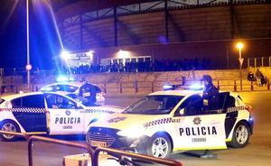 La Policía Local de Logroño identifica a tres menores tras el robo de un ciclomotor