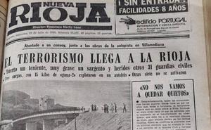 El día que ETA mató por primera vez en La Rioja