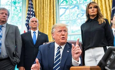 Trump canta victoria tras el testimonio de Mueller