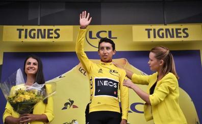 Bernal roza la gloria: «Esta camiseta es de toda Colombia»