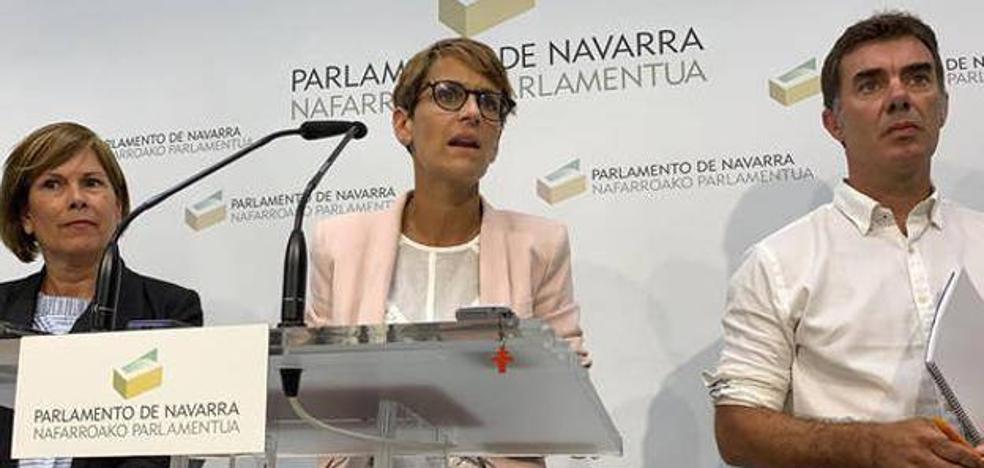 El PSN tendrá ocho consejerías en el Gobierno navarro y Geroa Bai, cuatro