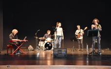 Five Souls actuó en el teatro Ideal de Calahorra en el ciclo de veladas musicales de verano