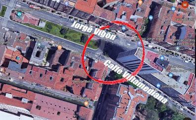 Un motociclista resulta herido tras colisionar contra un coche en Logroño