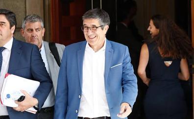 El PSOE sitúa a Patxi López como presidente de la Comisión Constitucional del Congreso