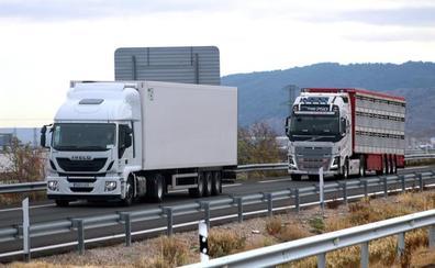 Los transportistas no podrán regresar a la N-232 al menos hasta primeros de noviembre