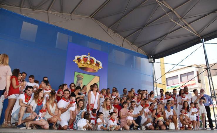 Los niños, protagonistas en las fiestas de Rincón de Soto