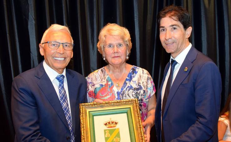 Homenaje a los mayores en Rincón de Soto