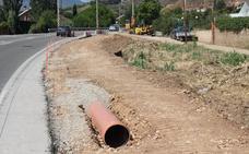 El Gobierno riojano acomete la obra de la acera de la LR-115 por 190.000 euros