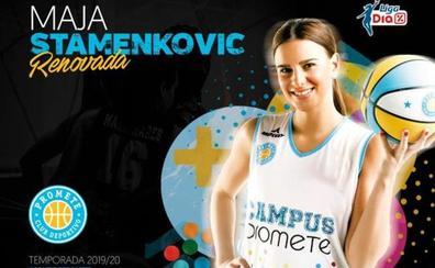 Maja Stamenkovic, sexta renovación del Promete