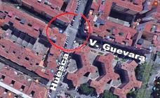 Un motorista herido en Logroño