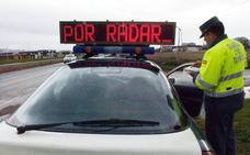 Tráfico pone en marcha una campaña de control de velocidad en las carreteras riojanas