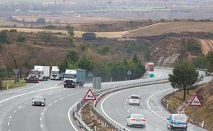 Grupo Arnedo reclamará dos millones de euros por el desvío de camiones a la AP-68