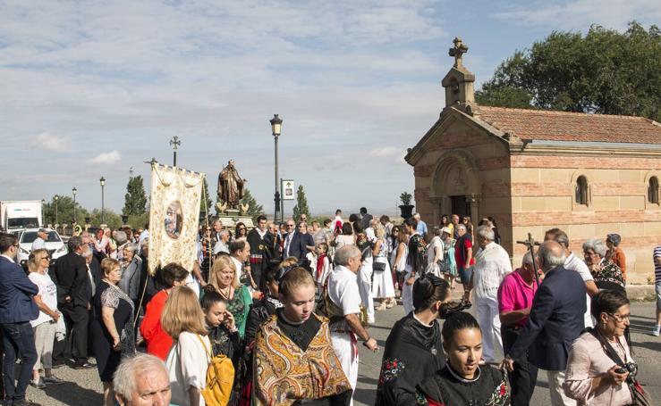 Viloria visita Santo Domingo de la Calzada