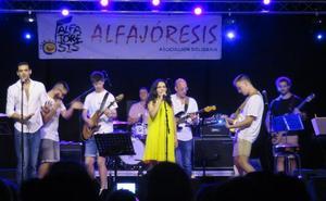 Los músicos alfareños, unidos por la solidaridad