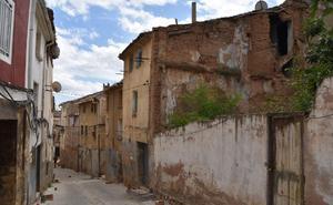 Seis derribos en el casco antiguo de Calahorra, pendientes de ejecutar