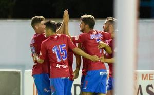 El Calahorra respira aliviado tras el gol de José Ramón