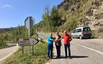 El Gobierno invierte un millón de euros en la carretera de Munilla a Zarzosa