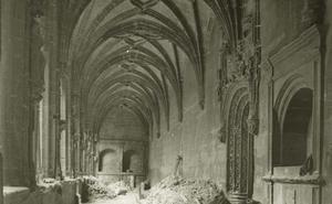 Imagen antigua de Santa María la Real