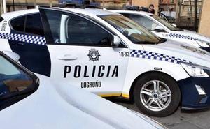 Un niño de 13 años provoca un accidente en Logroño tras coger el coche de su padre