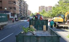 El PP pide reabrir el tráfico en la calle Vara de Rey de Logroño