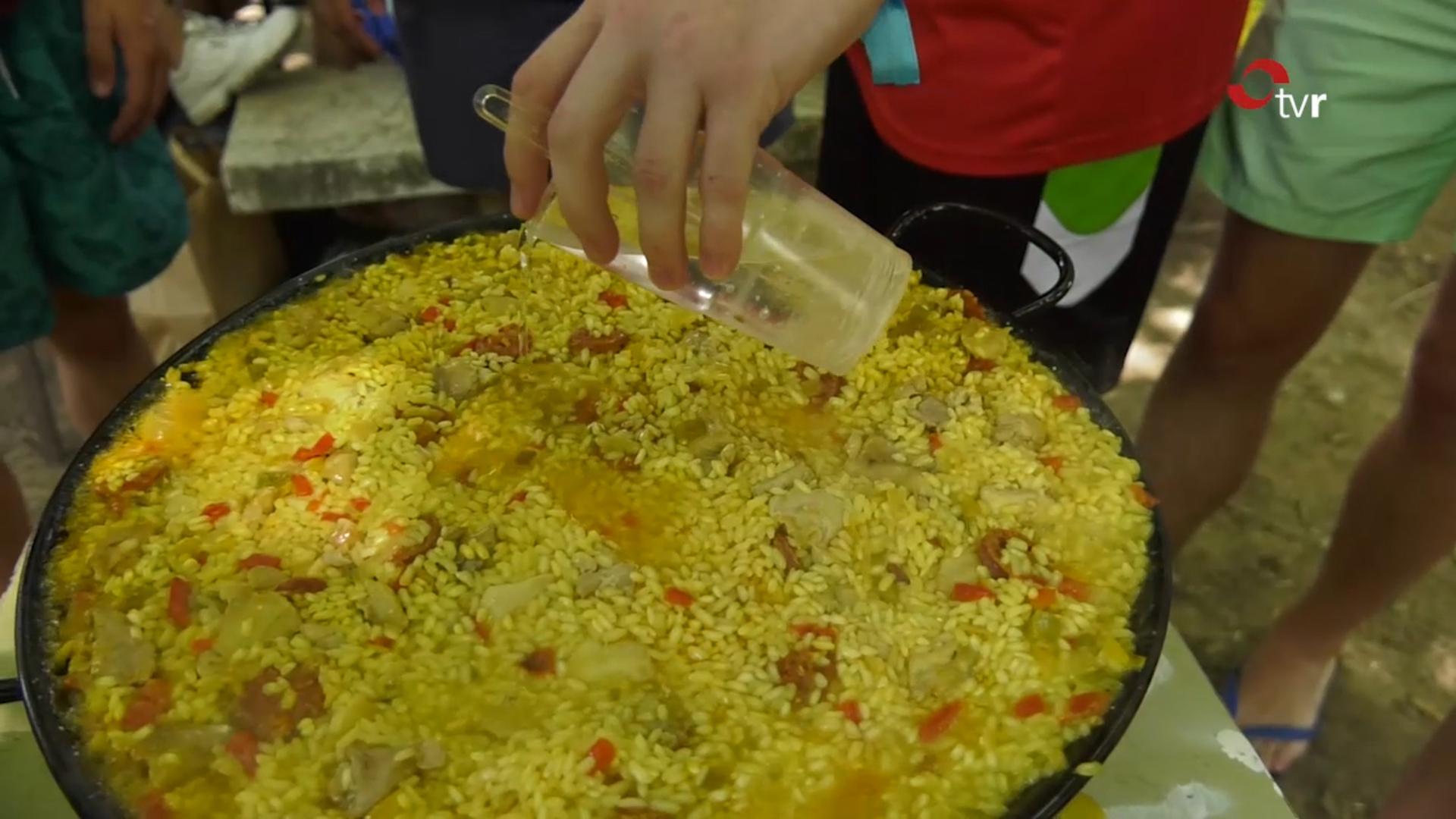 Concurso de paellas en Tirgo