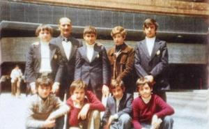 La Retina: escolares de Logroño en 1976