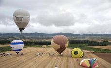 La XIX Regata Internacional de Globos Aerostáticos, que se celebra en Haro hasta el próximo domingo